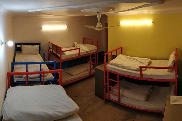 8-bed dorms