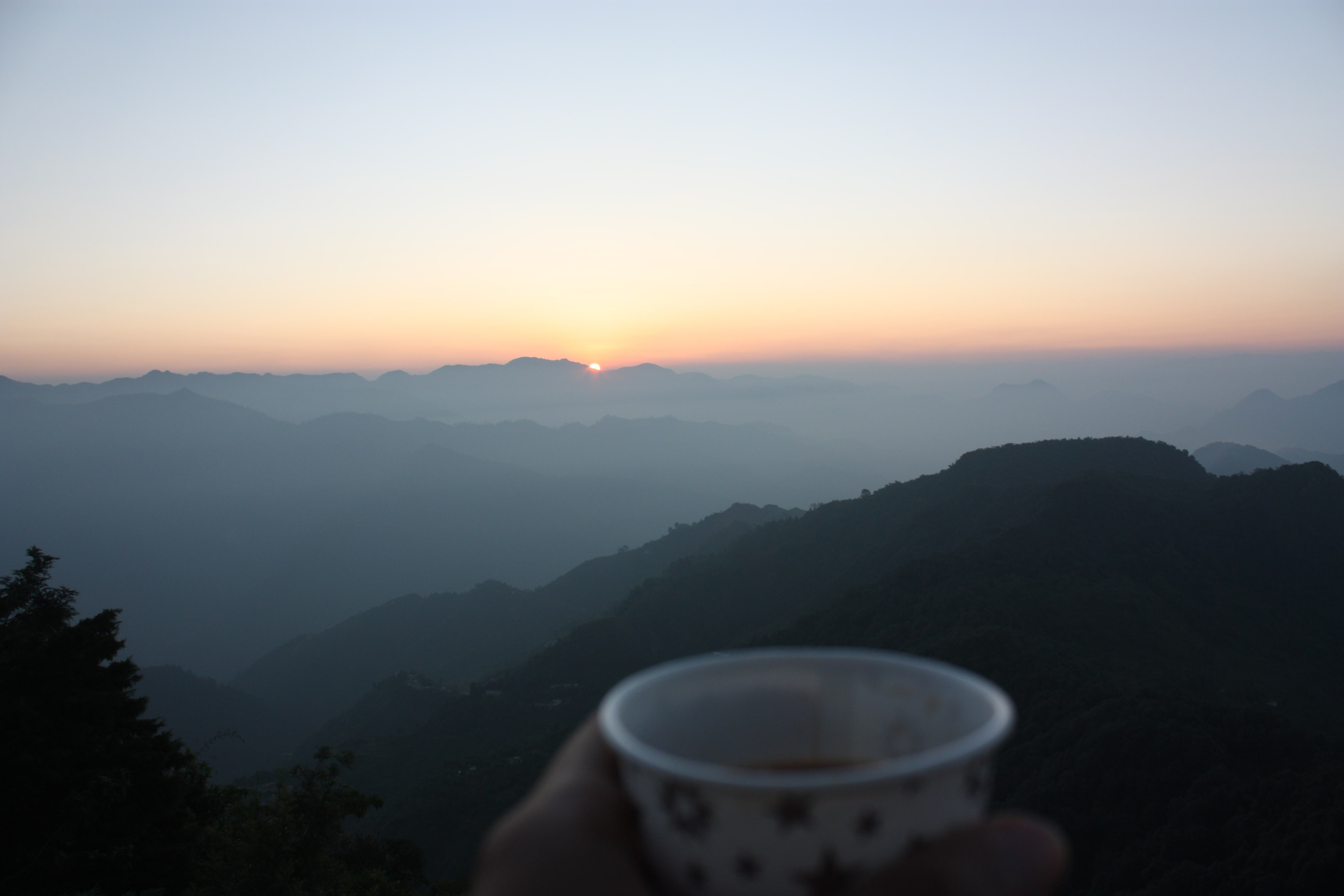 Sunrise at Kunjapuri